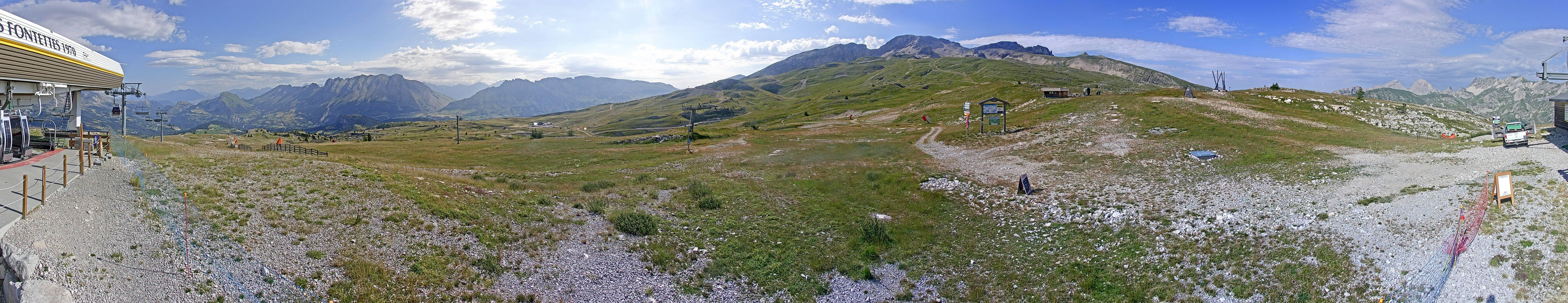 Superdevoluy webcam - ski station Fontettes